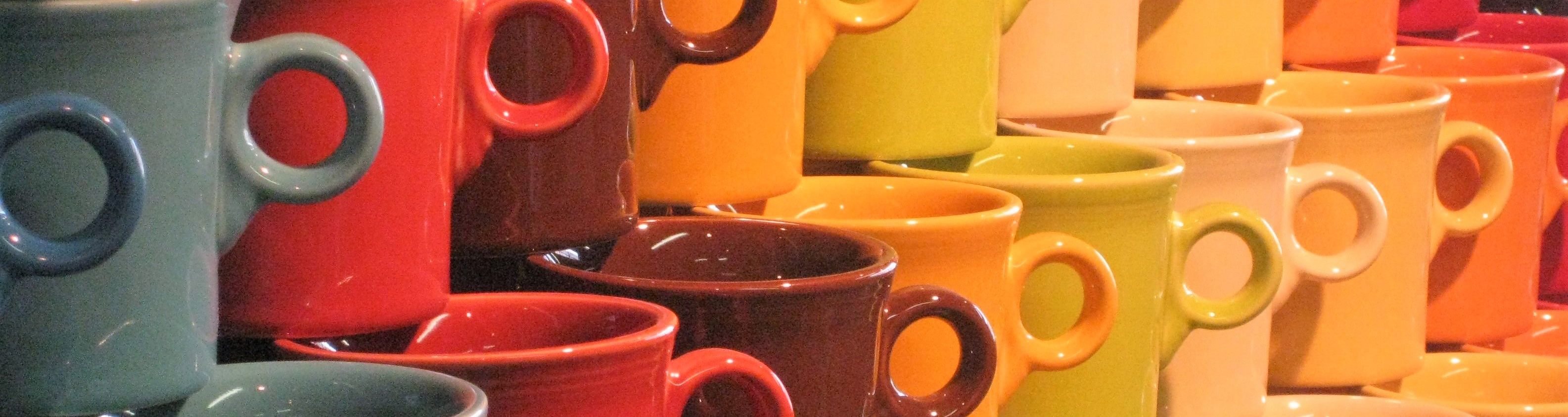 Mugs, Cups, Saucers, Tumblers & Goblets