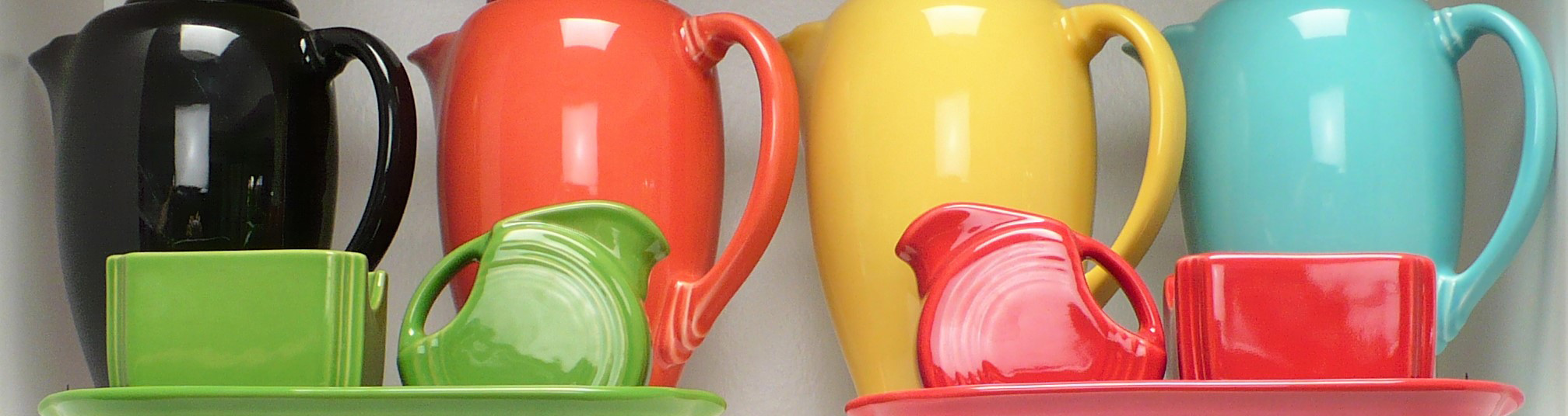 Pitchers, Carafe, Teapots, & Coffee Server